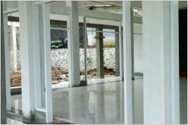 Pemasangan ACP Carton Wall, Partisi Kusen Aluminium , Canopy Kaca Laminated di Graha Balaraja Industrial Estate