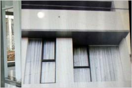 Pemasangan kusen aluminium dan kaca di Puri Beta, Ciledug